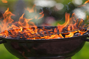 房客的烧烤安全提示