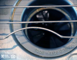 Kitchen Sink with a Garbage Disposal