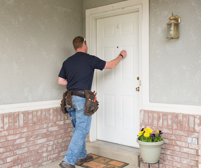Maintenance Man from Real Property Management Alamo Arriving to Check the Pipes in Your San Antonio Rental Property