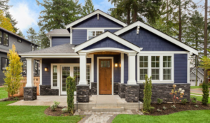 Exterior View of a Beautiful Rental Home in Stone Oak