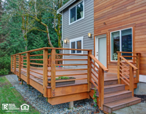 Palatine Rental Property with a Newly Renovated Deck and Sliding Door
