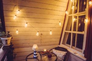 Tulsa Rental Home with a Retro Style Balcony