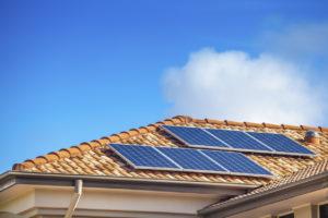 Solar Panels on Broken Arrow Rental Home
