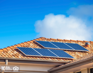 Solar Panels on Broken Arrow Rental Home