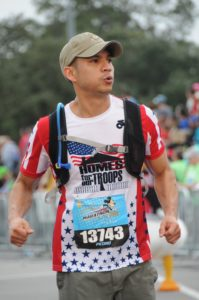 Running the Disney Marathon for Homes for our Troops