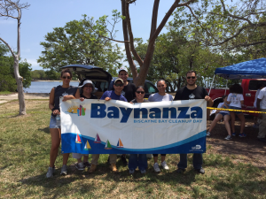The Real Property Management Dade Team at Baynanza: Biscayne Bay Cleanup - Matheson Hammock Park