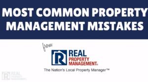 Miami rental management common mistakes