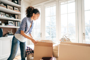 Homestead Tenant Keeping Their Rental Home Free of Unnecessary Clutter by Tidying Up