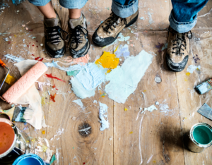 Santa Clarita Tenants Making Messes While Renovating Your Rental Property