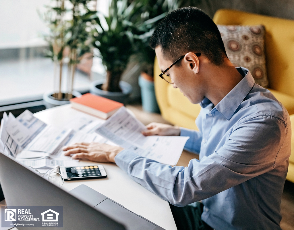 Canyon Country Real Estate Investor Calculating the Costs of a Recent Acquisition