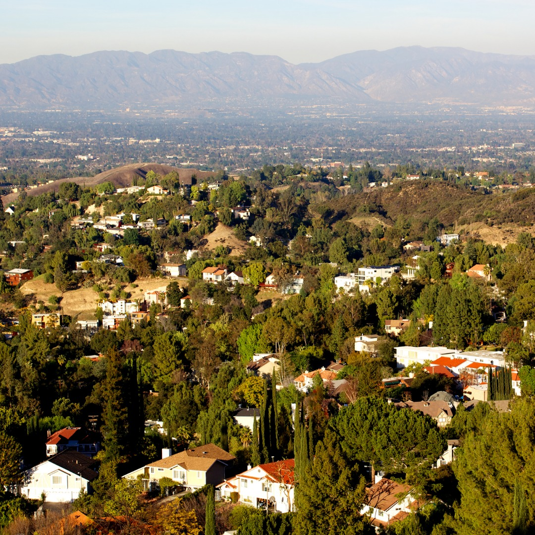 Woodland Hills Panorama in the San Fernando Valley