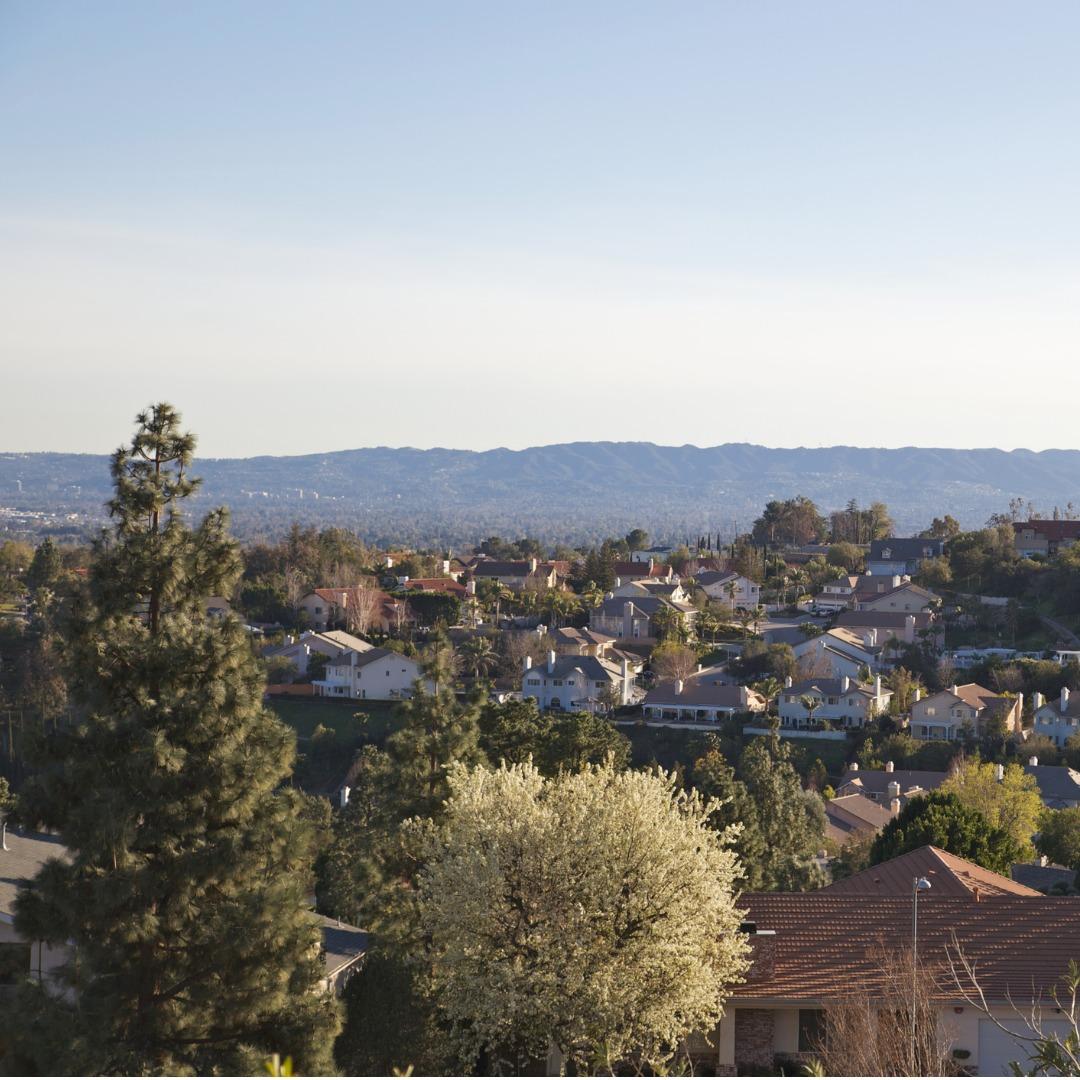 San Fernando Valley at Dusk