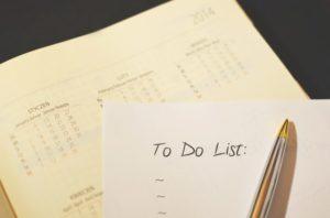 Calendar Book and To-Do List