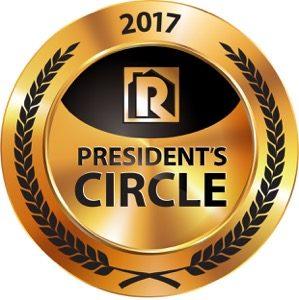 Presidents Circle GOLD Award - RPM Enterprises