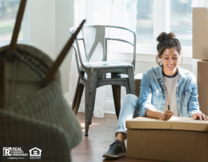 Providence Woman with a Move-In Inspection Checklist