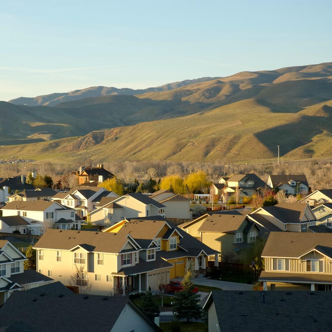 Neighborhood in Idaho