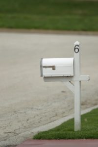 House Number on Chubbuck Property's Mailbox