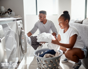Pocatello Couple Doing Laundry