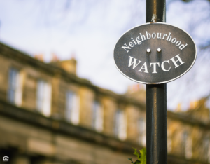 Cheney Neighborhood Watch Sign