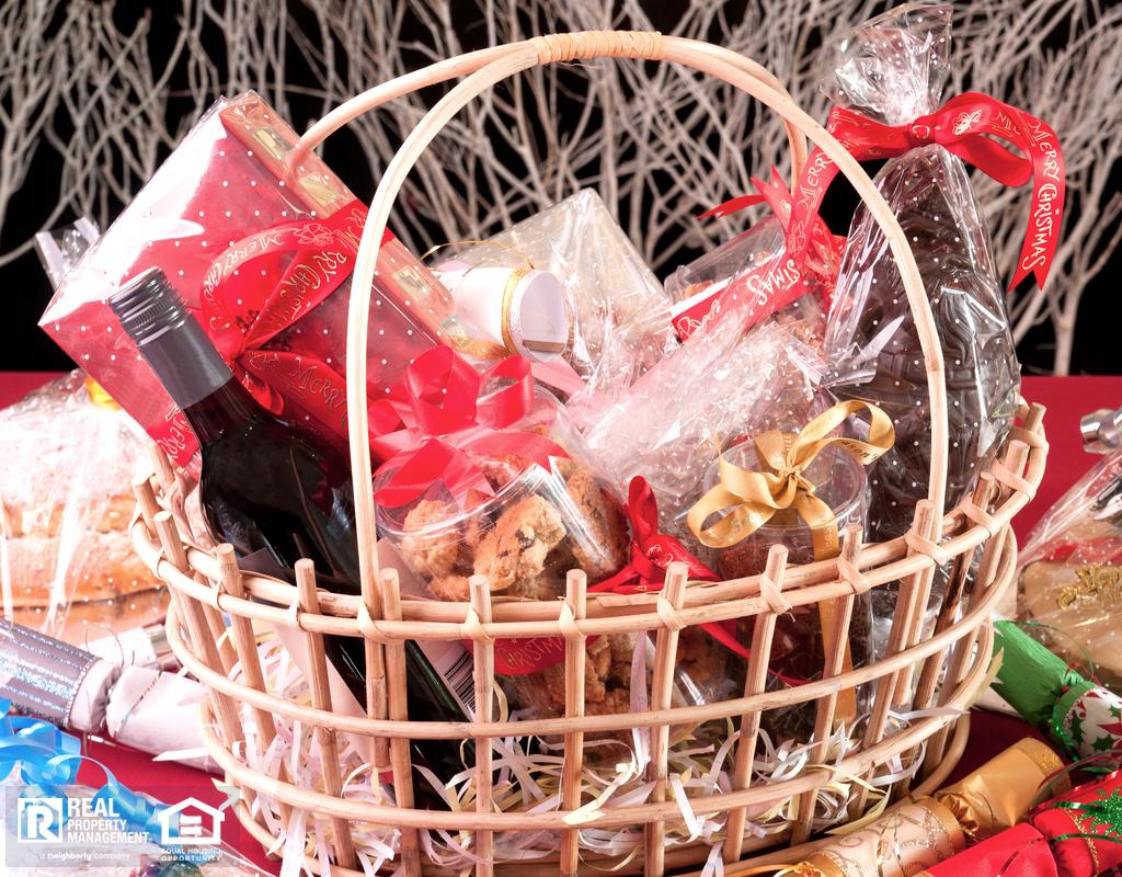 Christmas Gift Basket for Liberty Lake Tenants