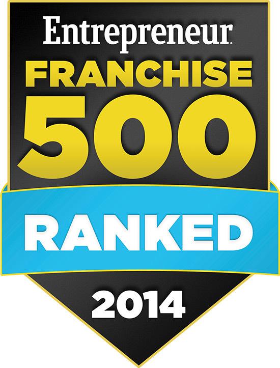 Entrepreneur Franchise 500 - 2014