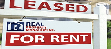 LEASED Sign Placed by Property Managers in San Antonio