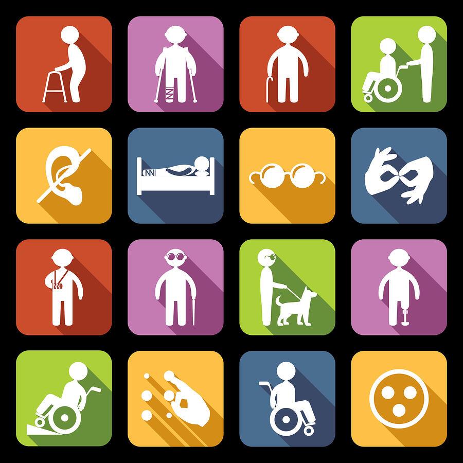 Handicap signage