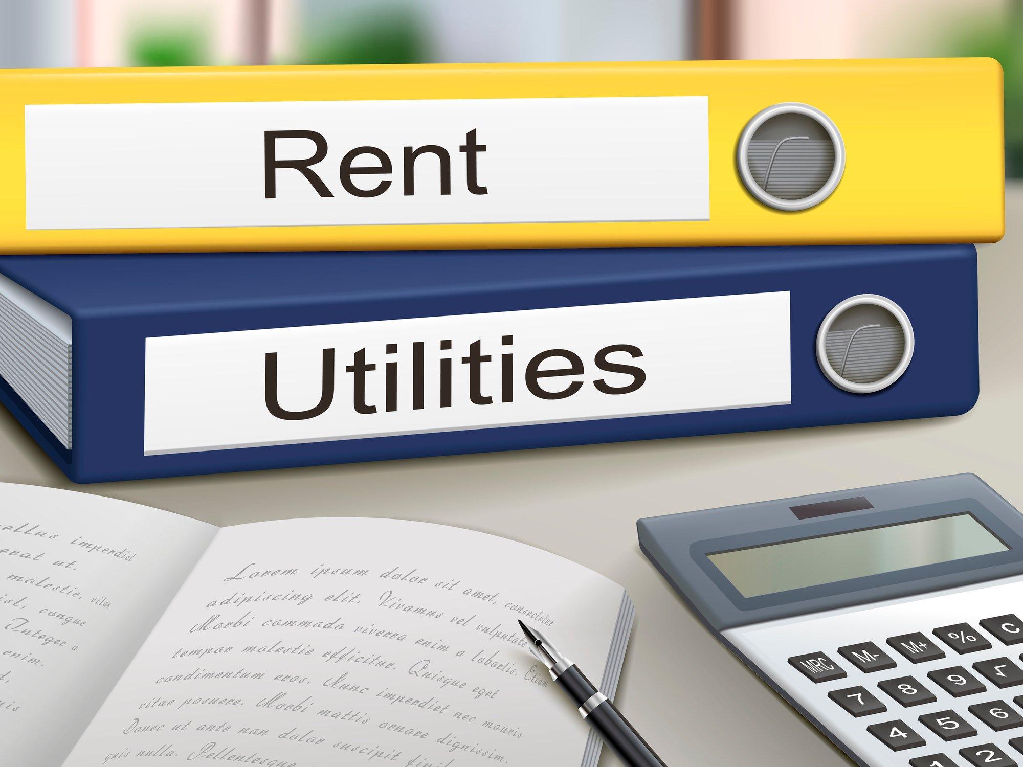 rent utilities on binder