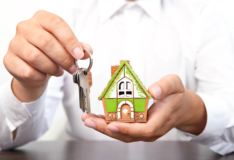 house and keys for rental