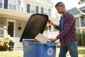 Selma Tenant Recycling Cardboard