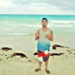 Patrick Maiza on the Beach