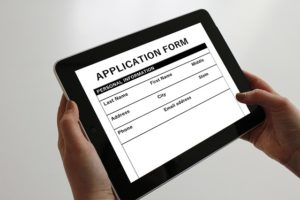 Picture of rental application