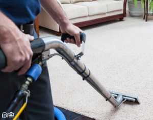 North Charleston Carpet Cleaners Using Industrial Equipment to Clean Carpets