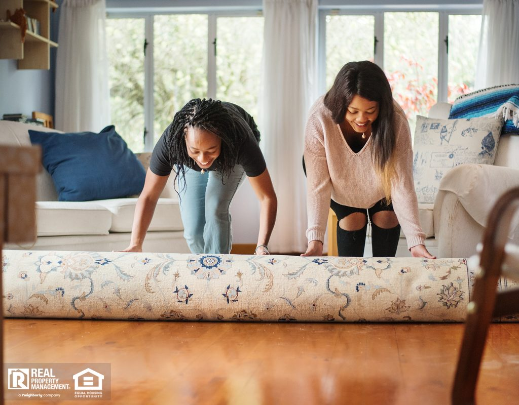 Brightwood Renters Rolling Out a New Rug