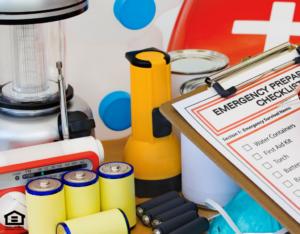 Emergency Preparation Kit for Tillmans Corner Rental Home