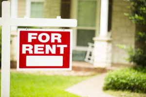 """Plantation Rental Property with a """"For Rent"""" Sign in the Front Yard"""