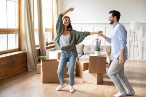 A Happy East Rockaway Couple Moving In
