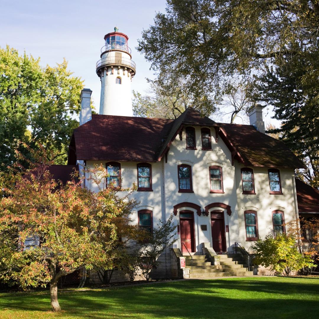 Evanston Lighthouse in Illinois