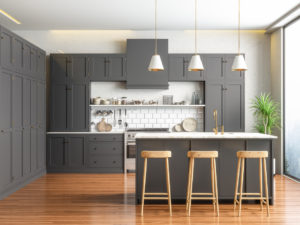 A Newly Remodeled Kitchen in a Berwyn Rental Property