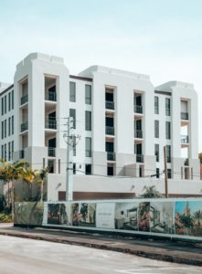 Exterior View of High End Condos in the City