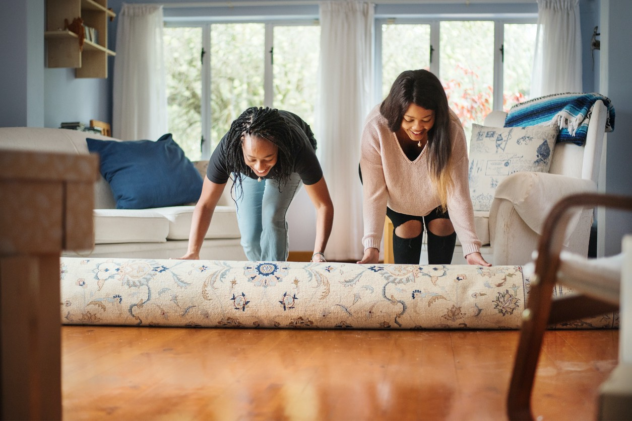 Burlingame Renters Rolling Out a New Rug
