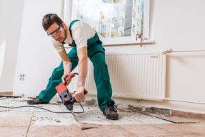 Chester Tenant Trying to Fix Floors in a Rental Property