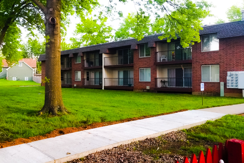 A multifamily investment property