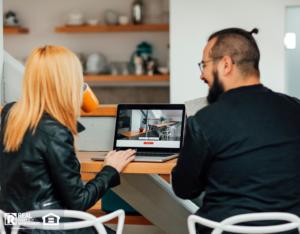 San Gabriel Renters Looking at Online Apartment Tours