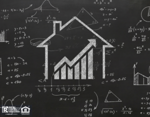 Chalkboard Style House Graphs and Math