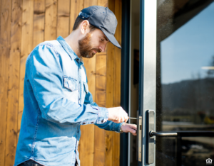 Tenant Changing Locks on Their Apex Rental Property