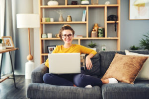 Property Owner Managing Property From Home