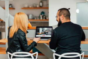 Magna Renters Looking at Online Apartment Tours