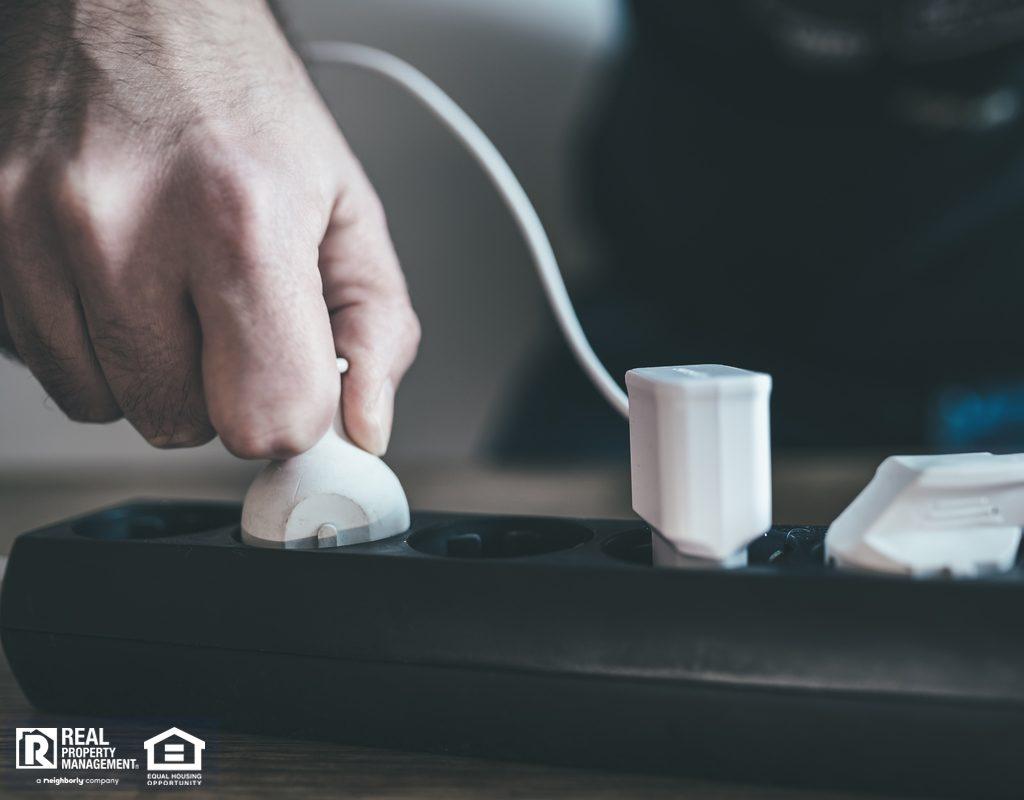 Salt Lake City Renter Using a Power Strip