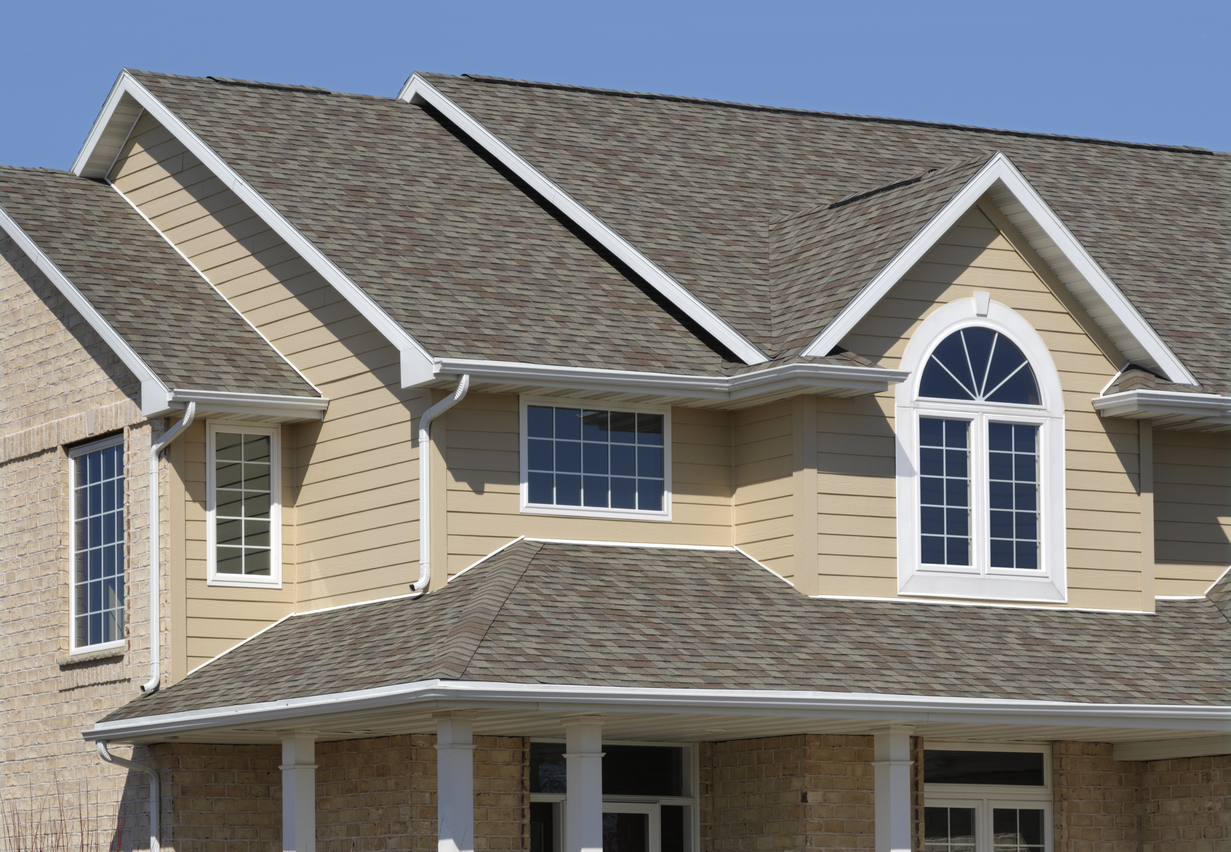 Saratoga Springs Rental Property with Clean Gutters and Downspouts